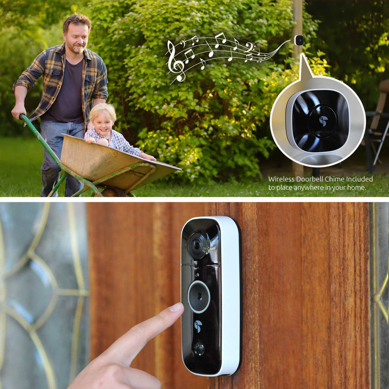 Doorbell Camera with wireless camera