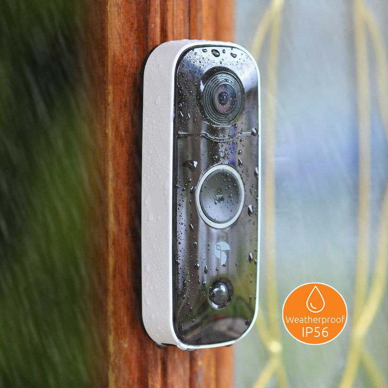 Weather resistant Wireless Video Doorbell