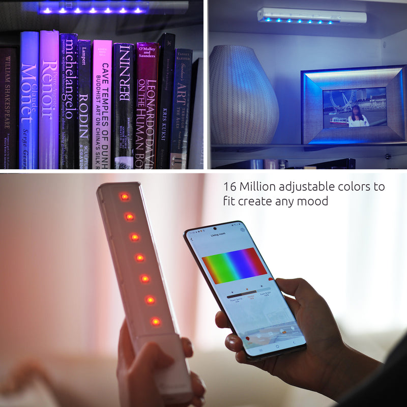 Toucan Smart RGB Light Bars for mood ambiance
