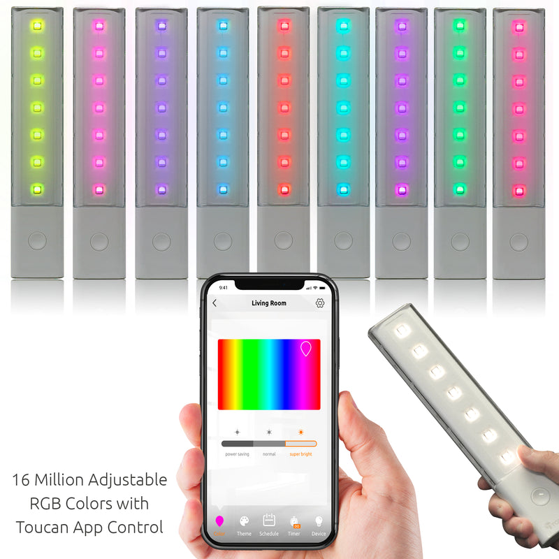 LGB Light Bars Connecting to your phone to adjust colors