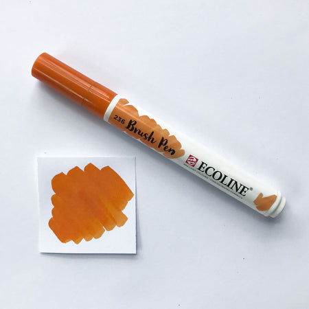 407 Deep Ochre Brush Marker