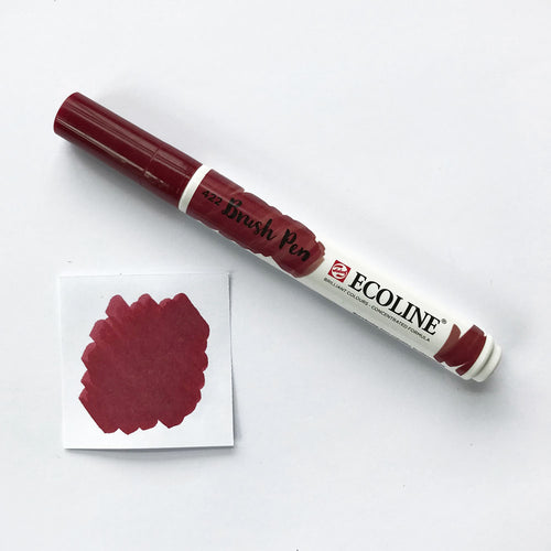 422 Reddish Brown Brush Marker - Quills