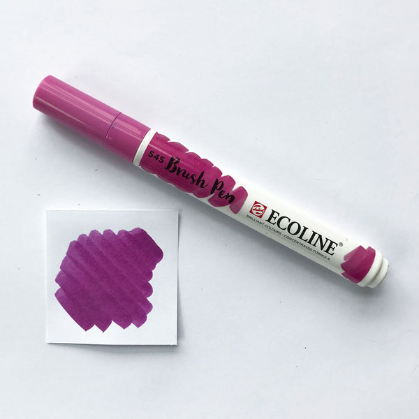 545 Red Violet Brush Marker - Quills