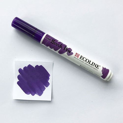 548 Blue Violet Brush Marker - Quills