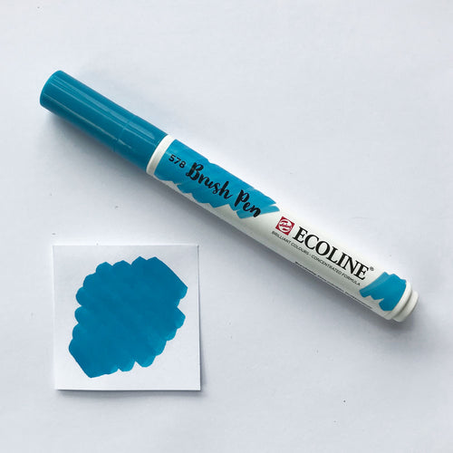 578 Sky Blue Brush Marker - Quills