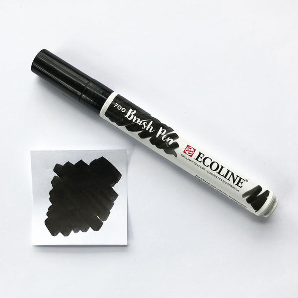 700 Black Brush Marker - Quills