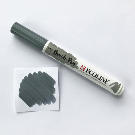 700 Black Brush Marker