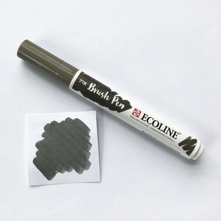 Watercolour Brush Pen - Greys