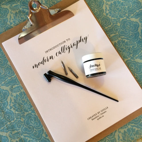 Introduction to Modern Calligraphy Kit