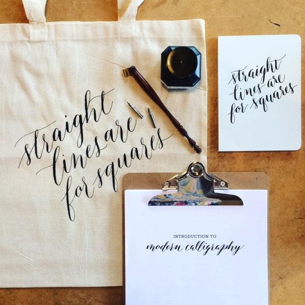 Introduction to Modern Calligraphy - April 21 - Quills