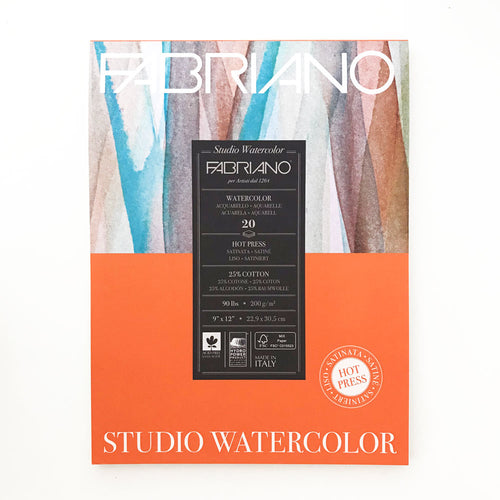 Hot Press Studio Watercolour Pad