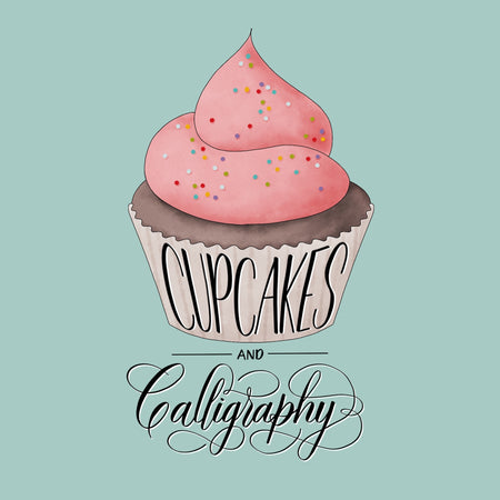 Cupcakes and Calligraphy JUNE