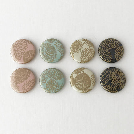 Set of 8 Teal & Green