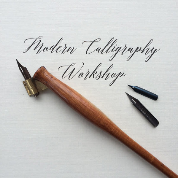 Introduction to Modern Calligraphy - June 16 - Quills