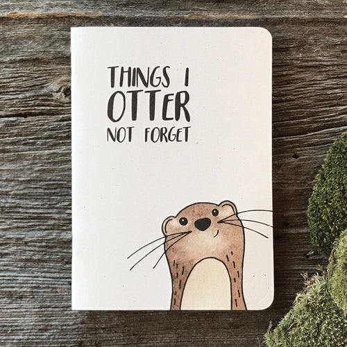 Things I otter not forget (wholesale) - Quills