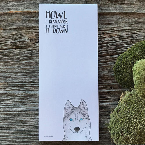 Howl I remember if I don't write it down (wholesale) - Quills