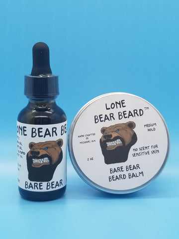 Bare Bear Oil and Balm Combo Set
