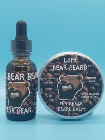 Perk Bear Oil and Balm Combo Set