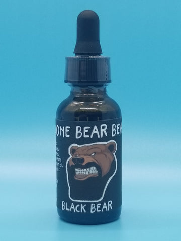 Black Bear Beard Oil