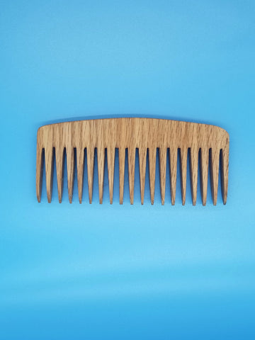 Wide Tooth Wood Comb