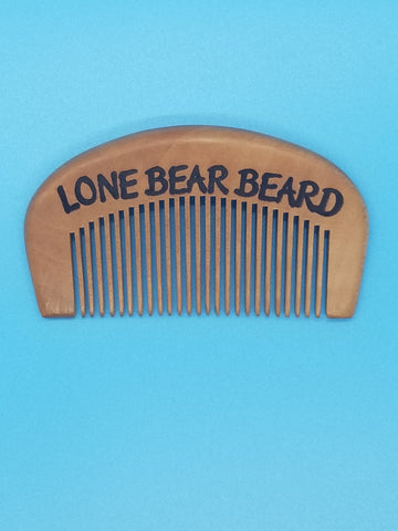 Single Wood Comb