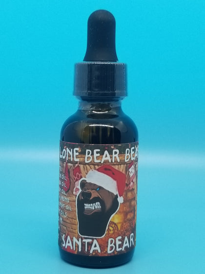 Santa Bear Beard Oil
