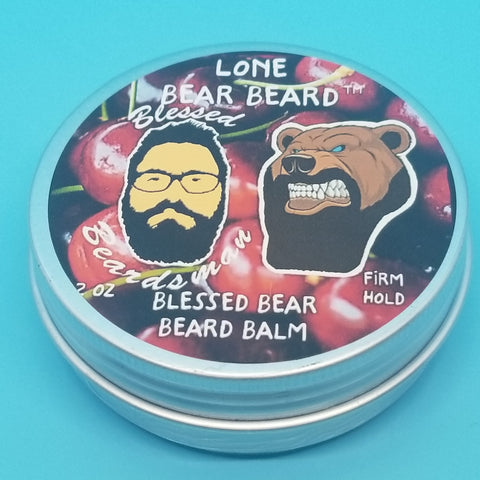 Blessed Bear Beard Balm - Firm Hold