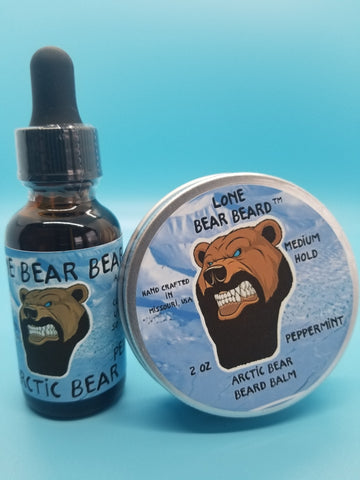 Arctic Bear Oil and Balm Combo Set