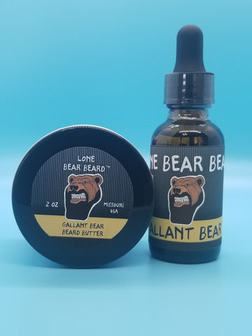 Gallant Bear Oil and Butter Combo