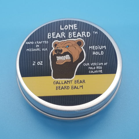 Gallant Bear Beard Balm