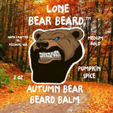 Autumn Bear Beard Balm