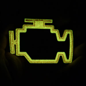 Engine light patch