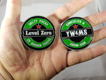 "Load image into Gallery viewer, 2"" Level Zero Challenge Coin"