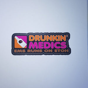 Drunkin Medics Sticker