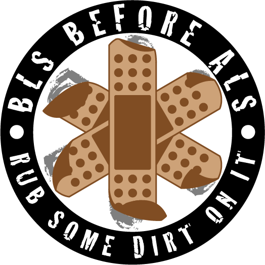 BLS before ALS Sticker