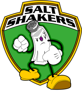 Salt Shaker Sticker