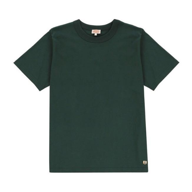 Armor Lux Classic Tee Shirt - Bottle Green
