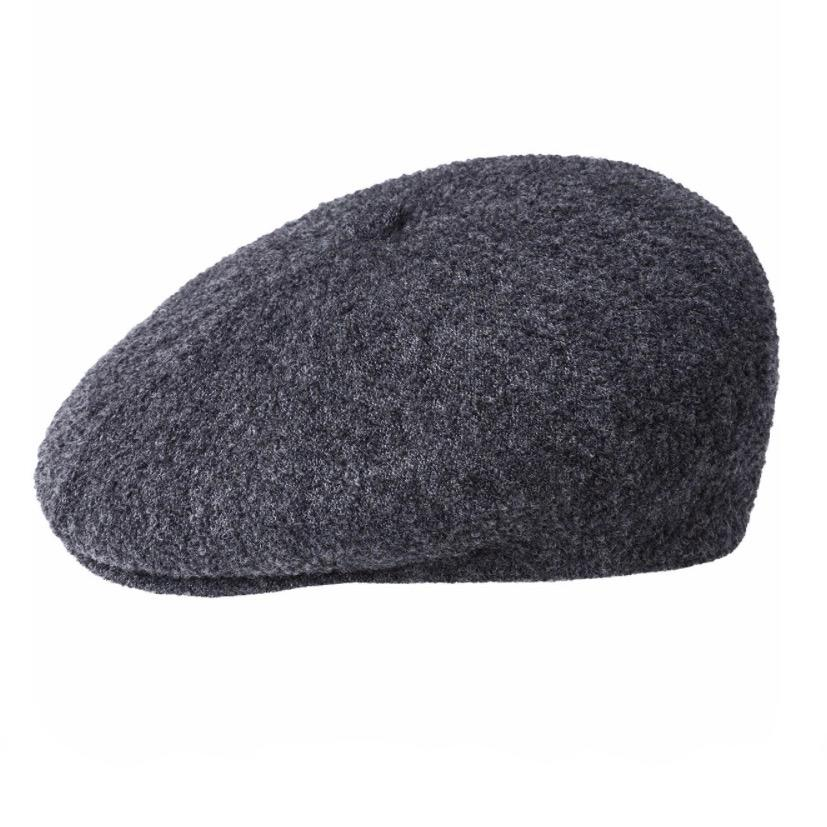 Kangol Boiled Wool Galaxy - Dark Flannel