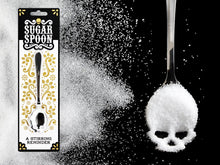 Load image into Gallery viewer, SUCKUK Skull Sugar Spoon