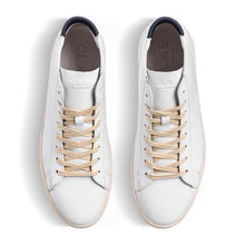 Load image into Gallery viewer, Clae Bradley Mid Leather - White/Navy