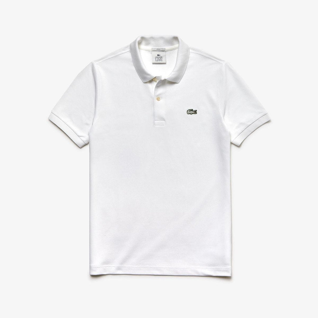 Lacoste Live Slim Fit Polo Shirt - White