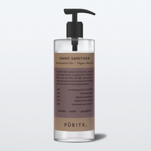 Load image into Gallery viewer, Puritx Hand Sanitiser - Manuka/Cedar/Grapefruit Pepper 250ml