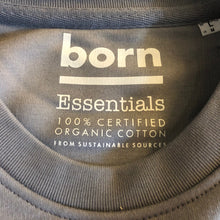 Load image into Gallery viewer, Born Essentials Organic Cotton Crew Sweat - Lava Grey