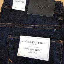 Load image into Gallery viewer, Selected Homme Straight Fit Jeans - Indigo