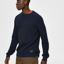 Load image into Gallery viewer, Selected Homme Crewneck Knit - Captain Sky