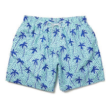 Load image into Gallery viewer, Boardies Flair Palm Shorts - Mint