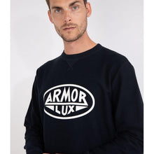 Load image into Gallery viewer, Armor Lux Printed Sweatshirt - Navy