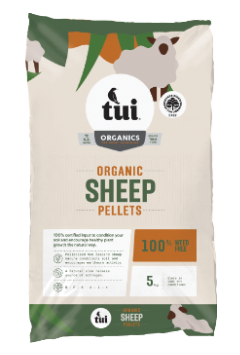 Tui Certified Organic Sheep Pellets 5Kg