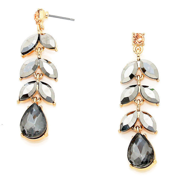 Flora Petal Drop Earrings