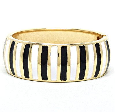 Parisian Stripe Bangle